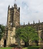 Car rental in Manchester, Manchester Cathedral, UK