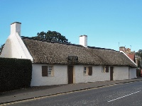 Car rental in Prestwick, Burns Cottage, UK